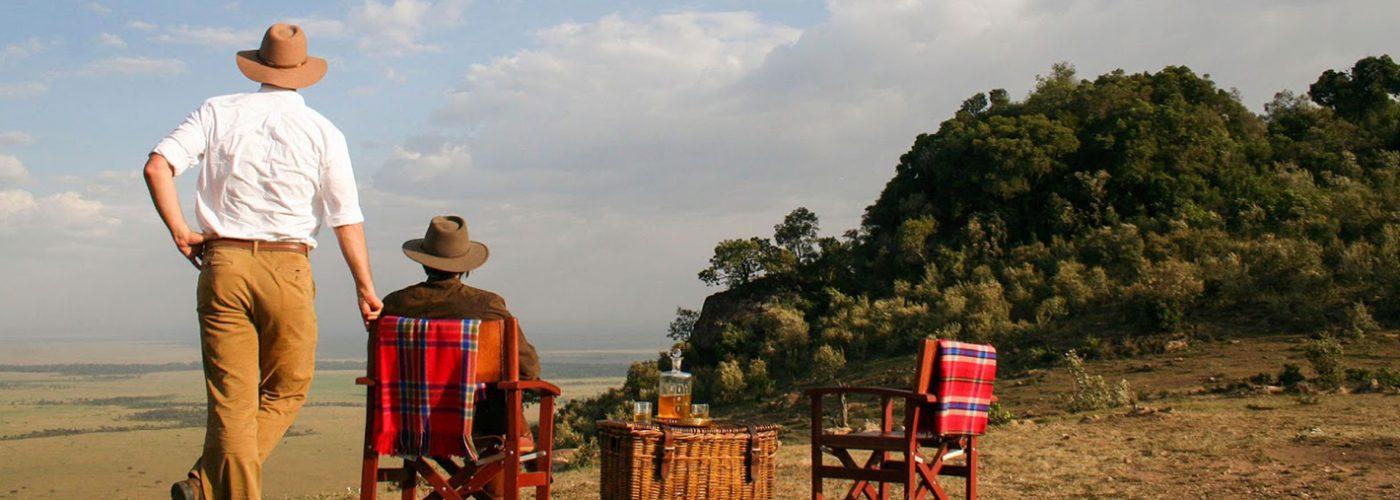 African Safari Tourists